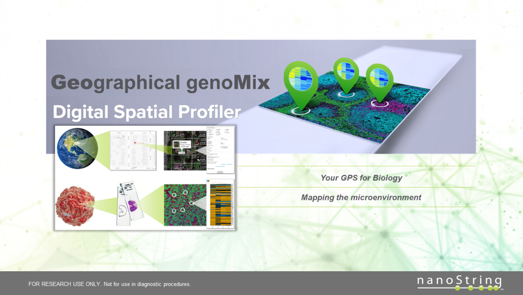 Welcome to a seminar on Spatial Omics using nanoStrings GeoMx DSP instrument