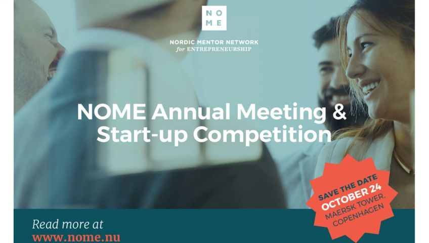 Medicon Village on Tour: NOME Annual Meeting & Start-up Competition