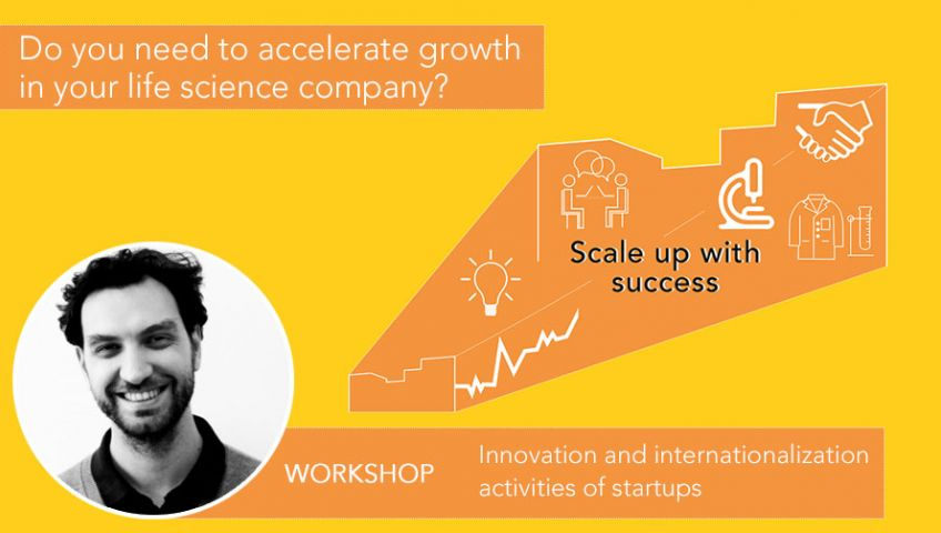 Workshop: Innovation and internationalization activities of startups
