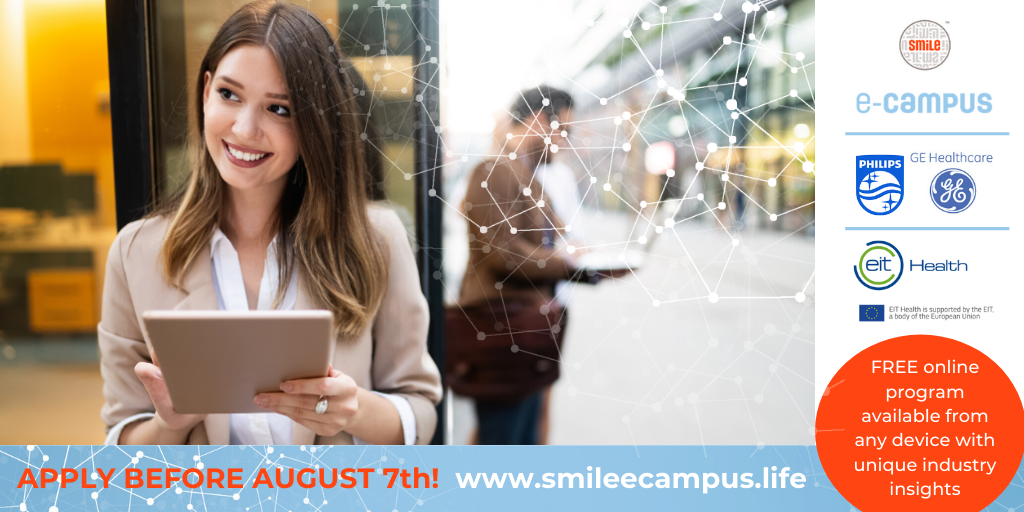 Apply before August 7th for SmiLe e-Campus